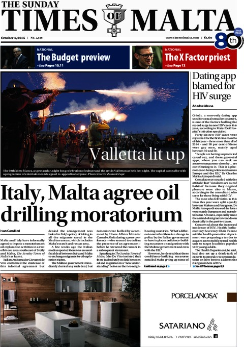 The Sunday Times of Malta e-Paper - Saturday, October 3, 2015