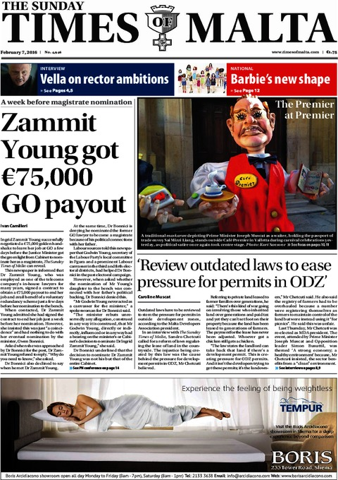 The Sunday Times of Malta e-Paper - Saturday, February 6, 2016