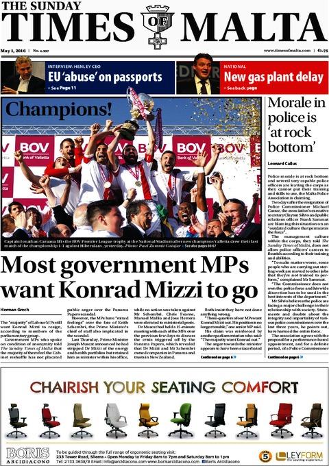 The Sunday Times of Malta e-Paper - Saturday, April 30, 2016