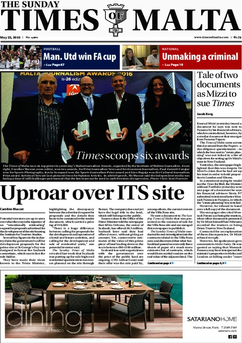 The Sunday Times of Malta - Sunday, May 22, 2016