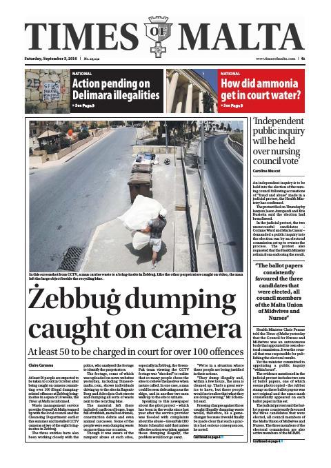 Times of Malta - Saturday, September 3, 2016