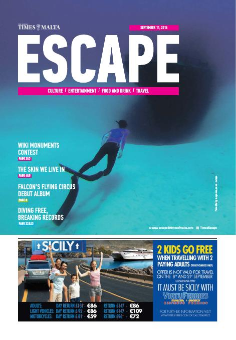 Escape - Sunday, September 11, 2016