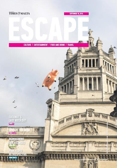 Escape - Sunday, September 18, 2016