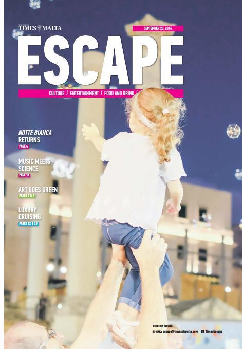 Escape - Sunday, September 25, 2016