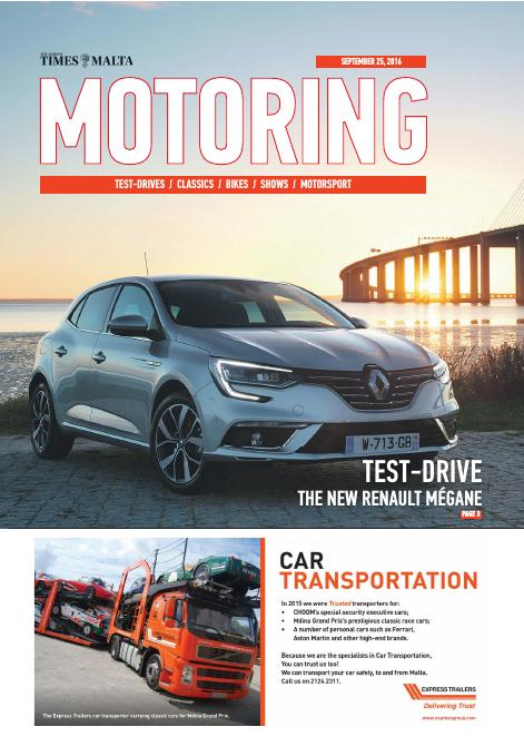 Motoring and Technology - Sunday, September 25, 2016