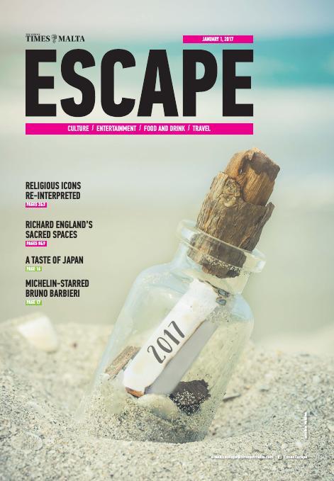 Escape - Sunday, January 1, 2017
