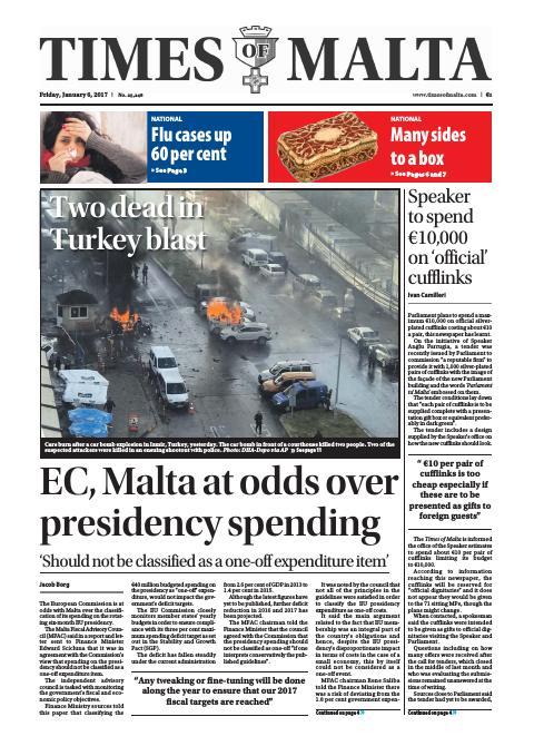 Times of Malta - Friday, January 6, 2017