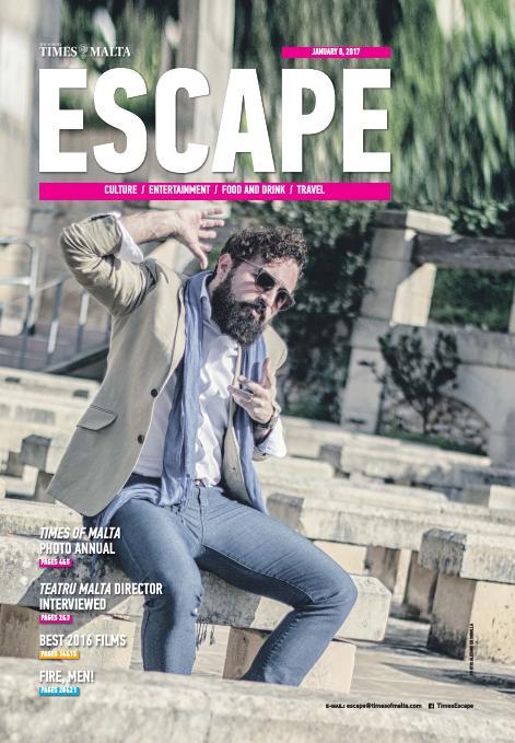 Escape - Sunday, January 8, 2017