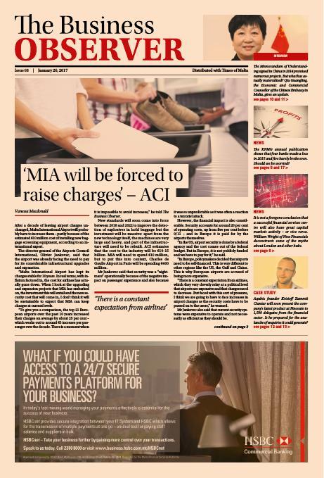 Business Observer - Thursday, January 26, 2017