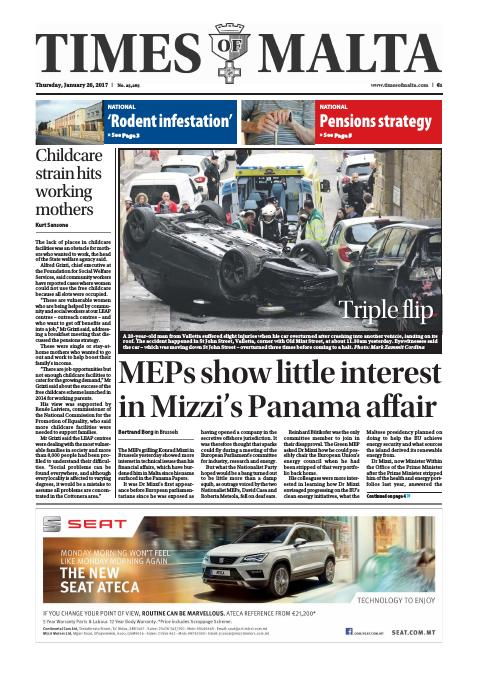 Times of Malta - Thursday, January 26, 2017