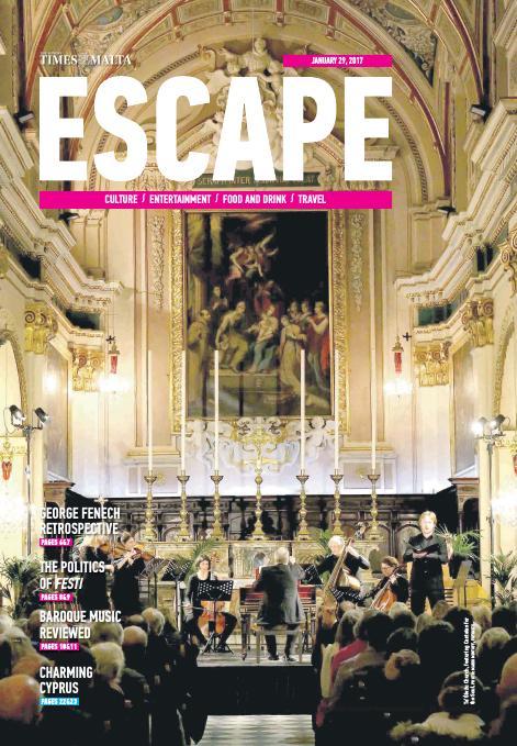 Escape - Sunday, January 29, 2017
