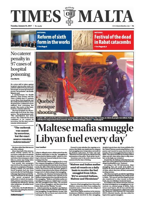 Times of Malta - Tuesday, January 31, 2017