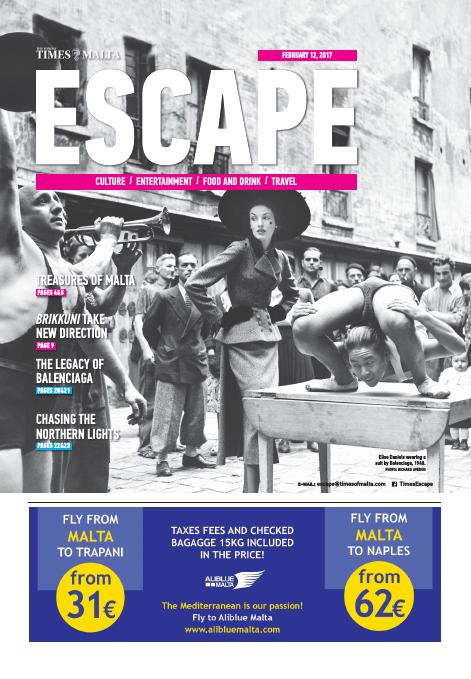Escape - Sunday, February 12, 2017