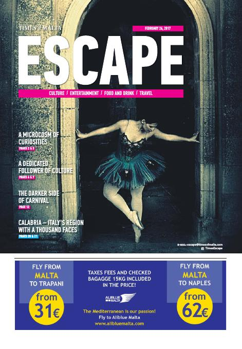Escape - Sunday, February 26, 2017