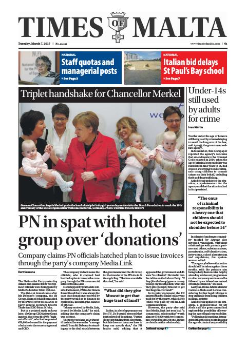 Times of Malta - Tuesday, March 7, 2017