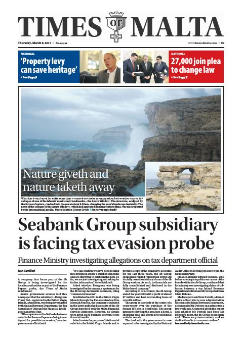 Times of Malta - Thursday, March 9, 2017