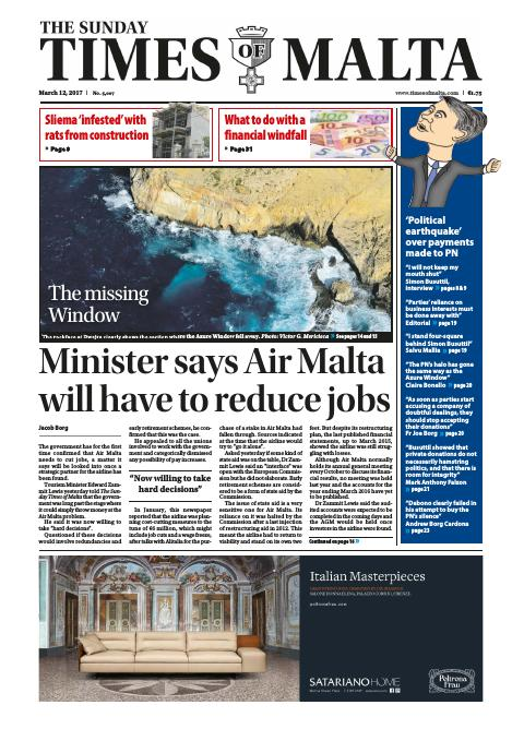 Times of Malta - Sunday, March 12, 2017