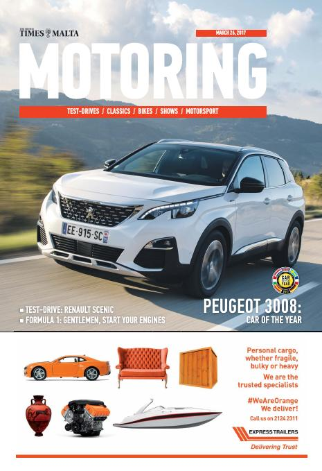 Motoring - Sunday, March 26, 2017