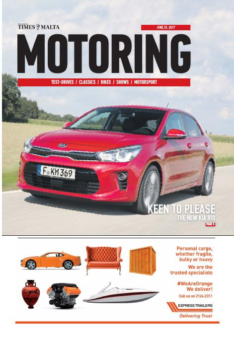 Motoring - Sunday, June 25, 2017