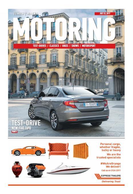 Motoring - Sunday, July 23, 2017
