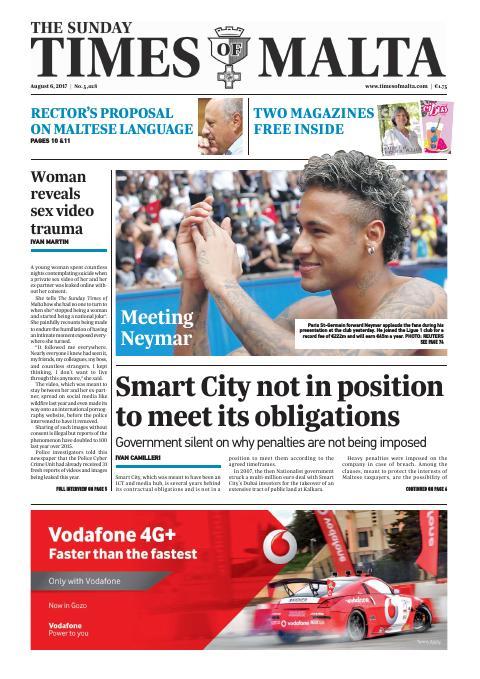 Times of Malta - Sunday, August 6, 2017